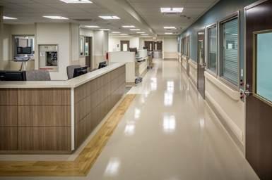 Atlanta Hospital Emergency Room On Solid Penetron